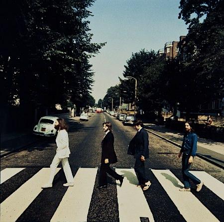 ビートルズ-アビィ・ロード-逆向き