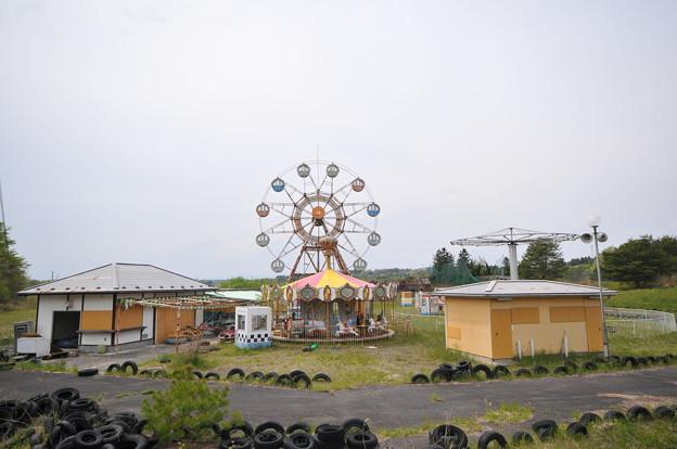 遊園地の廃墟