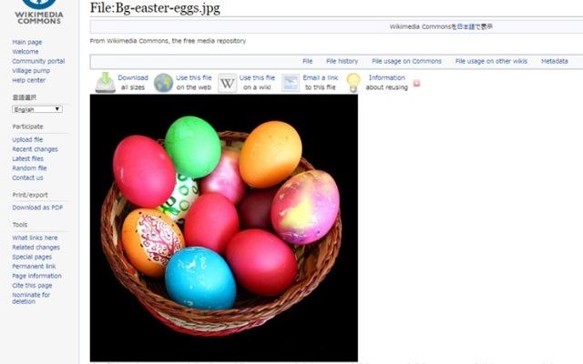 イースターエッグ-wikipedia-egg