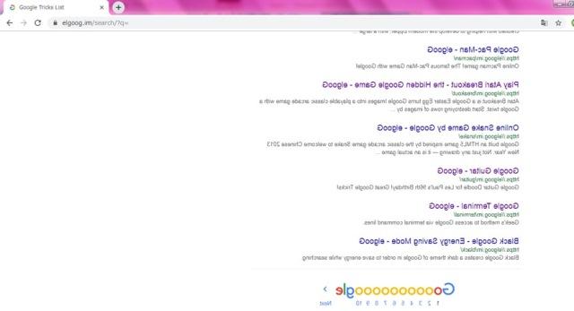 Googleの隠しコマンド-ミラー